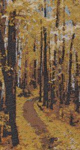 Autumn Trail, 16x27. $675.